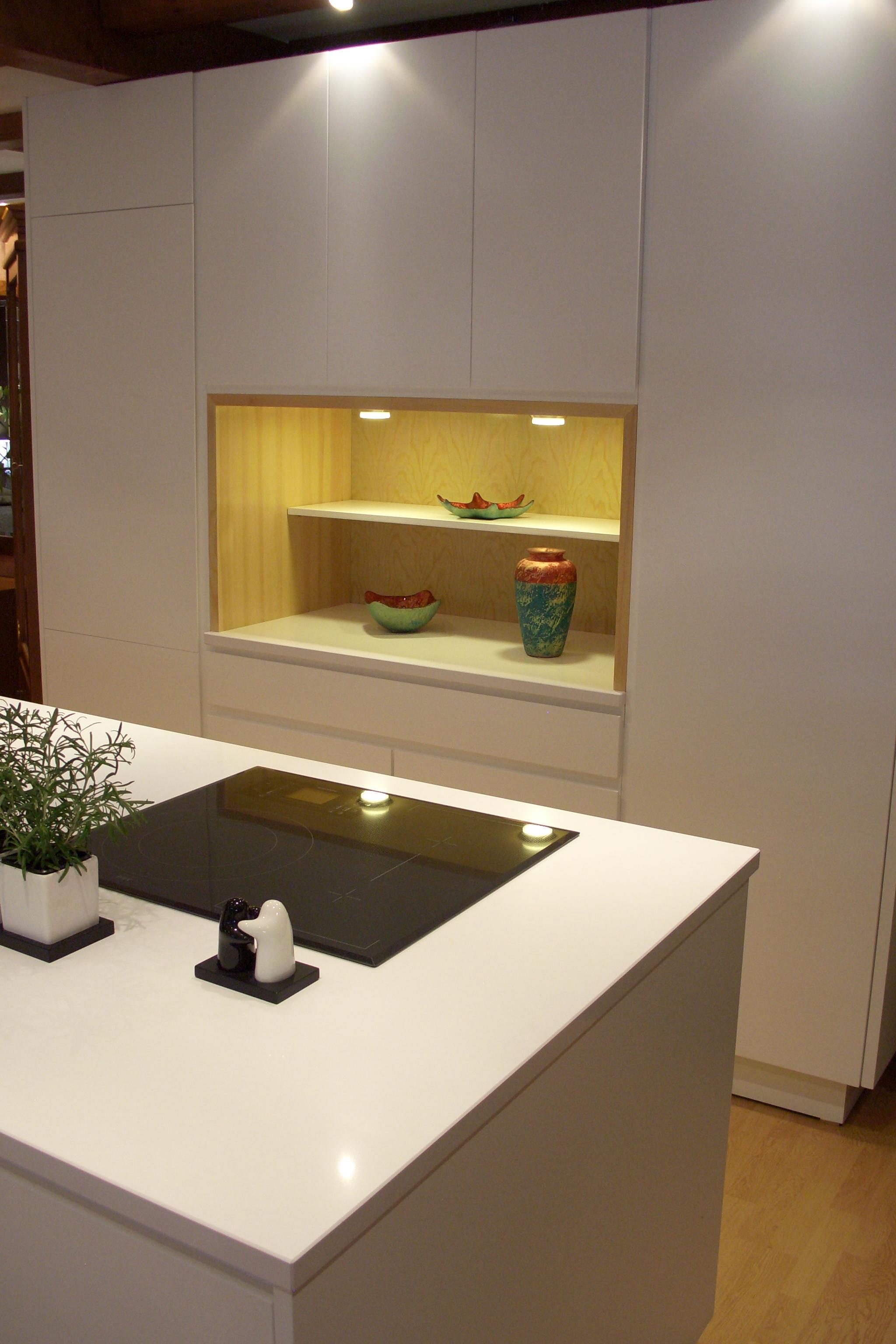 Cocina con electrodom sticos integrados f brica de for Cocina con electrodomesticos
